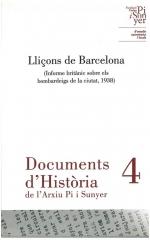 4. Lliçons de Barcelona (Informe britànic sobre els bombardeigs de la ciutat, 1938)