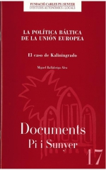 17. La política báltica de la Unión Europea. El caso de Kaliningrado