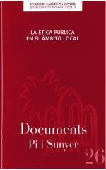 26. La ética pública en el ámbito local