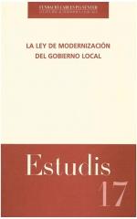 17. La Ley de Modernización del Gobierno Local