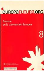8. Balance de la Convención europea
