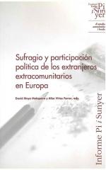 Sufragio y participación política de los extranjeros extracomunitarios en Europa