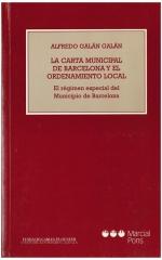 La Carta Municipal de Barcelona y el ordenamiento local
