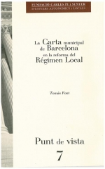 7. La Carta municipal de Barcelona en la reforma del règim local