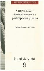 9. Cargos locales y derecho fundamental a la participación política