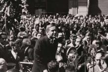 Acte de commemoració del 85è aniversari de la proclamació de la II República a l'Ajuntament de Barcelona