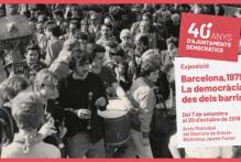 """Inauguració de l'exposició """"Barcelona, 1979. La democràcia des dels barris"""