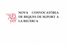 Annex - Convocatòria específica per a l'atorgament de beques de col·laboració en suport a la recerca a la Fundació Carles Pi i Sunyer