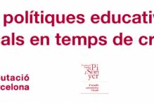 Nova publicació: Les polítiques educatives locals en temps de crisi