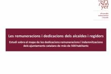 Les remuneracions i dedicacions dels alcaldes i regidors
